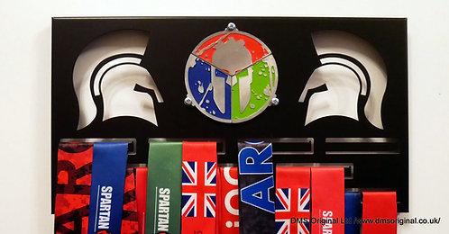 Season Pass medal hanger for trifecta - black