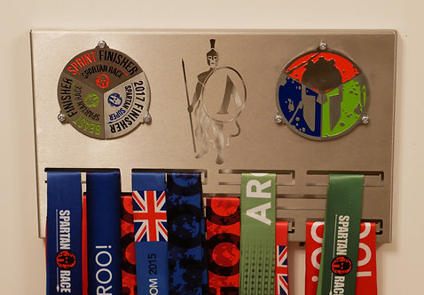 Season pass medal hanger for double trifecta