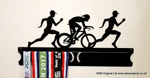 Duathlon men edition  - medal hanger