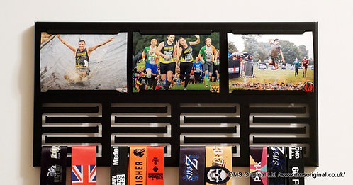 Medal hanger with photos