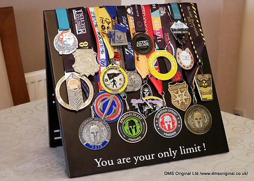 Freestanding medals stand