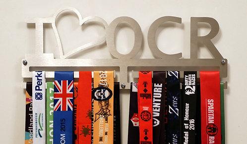 I Love OCR medal hanger - double rail