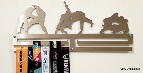 Judo medal hanger - double rail