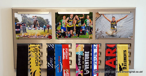 Medal hanger with photos - Stainless Steel