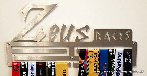 Zeus Races medal hanger - triple rail