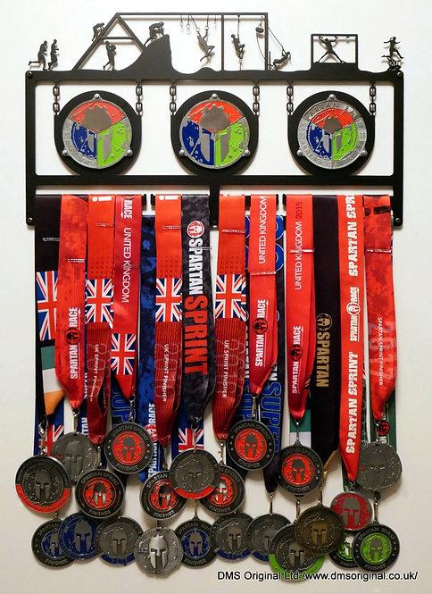 Triple Trifecta - medal hanger