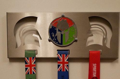 Medal hanger for trifecta