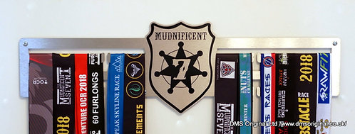 Mudnificent 7 medal hanger