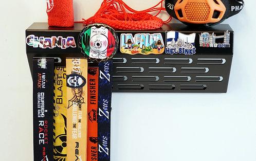 Custom display - shelf medal hanger