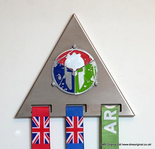Medal hanger for trifecta ver. 2