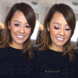 My bestie 😍😍 Natural soft glam for my bestie Ashley , what a beauty 😘😘❤️❤️😍😍 Makeup by me _ste