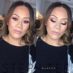 _ PAMELA _ _Loved glamming up this gorgeous mama for her baby shower!! Absolutely love these soft sm