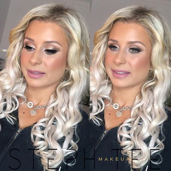 _ ELYSE __Love dolling up this blonde bombshell! Makeup by me _steph_tee_makeup 💕💋💗🔥
