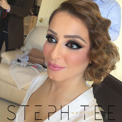 _ MARIAM _ _Another shot of my stunning bride from yesterday😍_Makeup by _steph_tee_makeup_Hair by _
