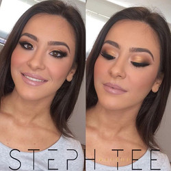 Cant deal 😍😍 Another look at Natalie's makeup look coz why not 😜 Makeup by me _steph_tee_makeup ✌