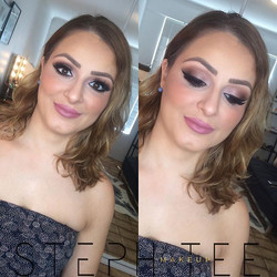 Rose gold goodness on my beautiful regular Mariam 💕💕 Makeup by me _steph_tee_makeup ✌️_._._.jpg