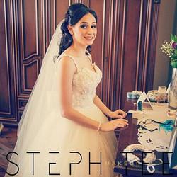 _ GEMMA _ _My beautiful bride Gemma wearing this stunning _suzannablazevic gown . Makeup by me _step