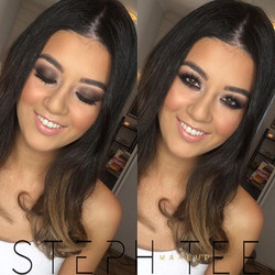 _ PAMELA _ _Cant even deal 😍😍 Sultry smokey for my girl Pammy ❤️ Makeup by me _steph_tee_makeup ✨✌