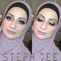 Cant wait to glam up Zeinab for her wedding day tomorrow! Makeup by me _steph_tee_makeup 💕💕