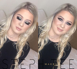 _ JEMMA _ _What a doll 😍😍Gorgeous green tones used on Jemma for her birthday glam 💕🔥 Makeup by m