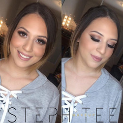 _ AMAL _ _Gorgeous birthday glam for this doll 😍😍 No filters necessary for this babe 💕💕 Makeup b