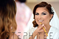 _ CHRISTINA _ _The day I watched my gorgeous cousin become the most beautiful bride 💓💓_Makeup by _
