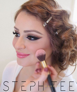 _ MARIAM _ _Makeup by me _steph_tee_makeup and photography by _faurevallettaphotography 💗💗 For all