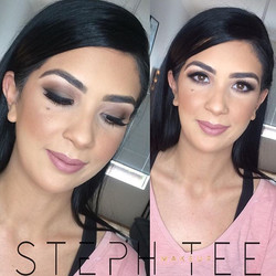 _ ZAINAB _ _Shes so stunning 😍😍 Makeup by me _steph_tee_makeup on this doll and hair by _gadshair