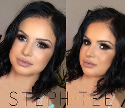 _ VICTORIA _ _Gorgeous Vicky rocking this sultry smokey makeup look 💗❤️💋 makeup by me _steph_tee_m