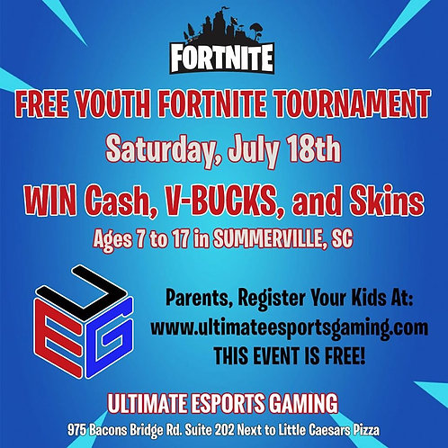 Fortnite Youth Tournament 10 AM - TEST