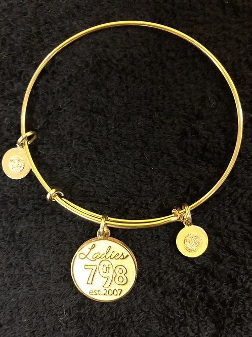 Ladies of 798/Pipeliners Union 798 Logo Bracelet