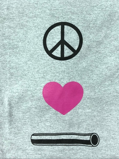 Peace, Love, Pipe Tee
