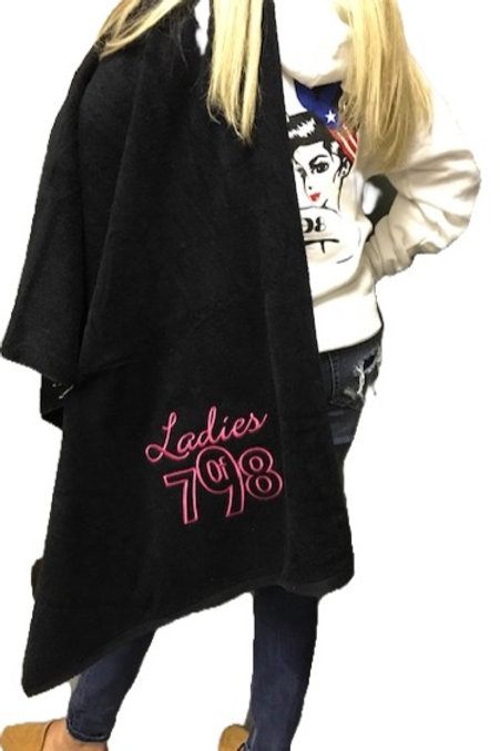Ladies of 798 Logo Beach Towel