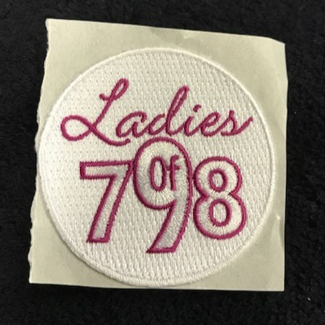 Ladies of 798 Patch