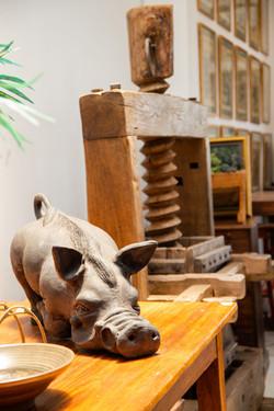 Decorative Cement Hog