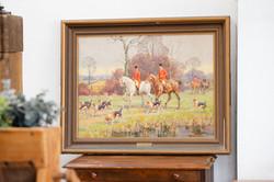 Hunt on horseback