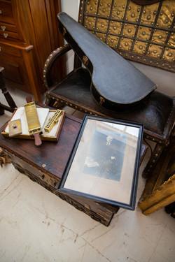 Four antique items - see description