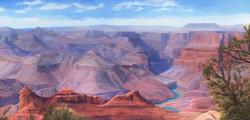Southern Rim at the Grand Canyon