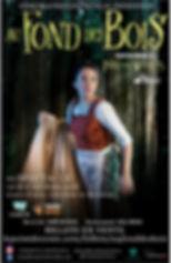 Affiche officielle Cendrillon - Production 2017-2018 par CoMUM - Au fond des bois