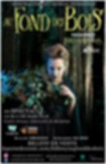 Affiche officielle La Sorcière - Production 2017-2018 par CoMUM - Au fond des bois