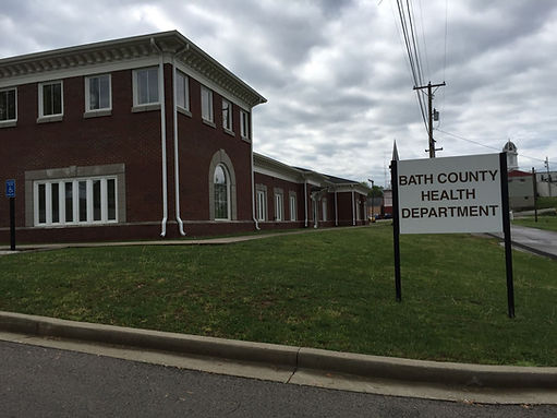Bath Co Health Department picture summer