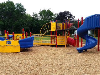 Thank you to everyone who helped with the playground community build!  We did it, and hit another hu