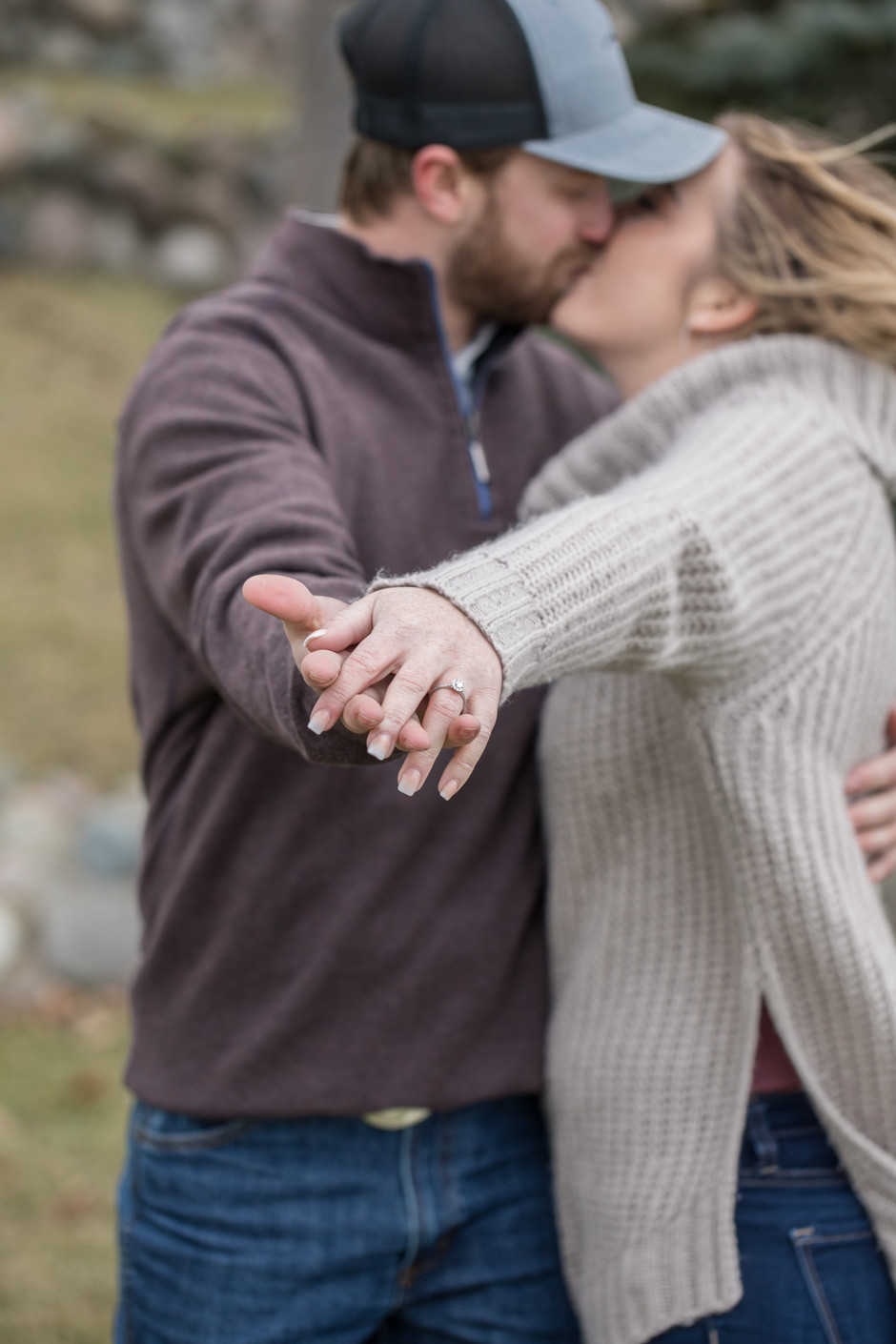 Kristy & Jared - A Holiday Engagement!