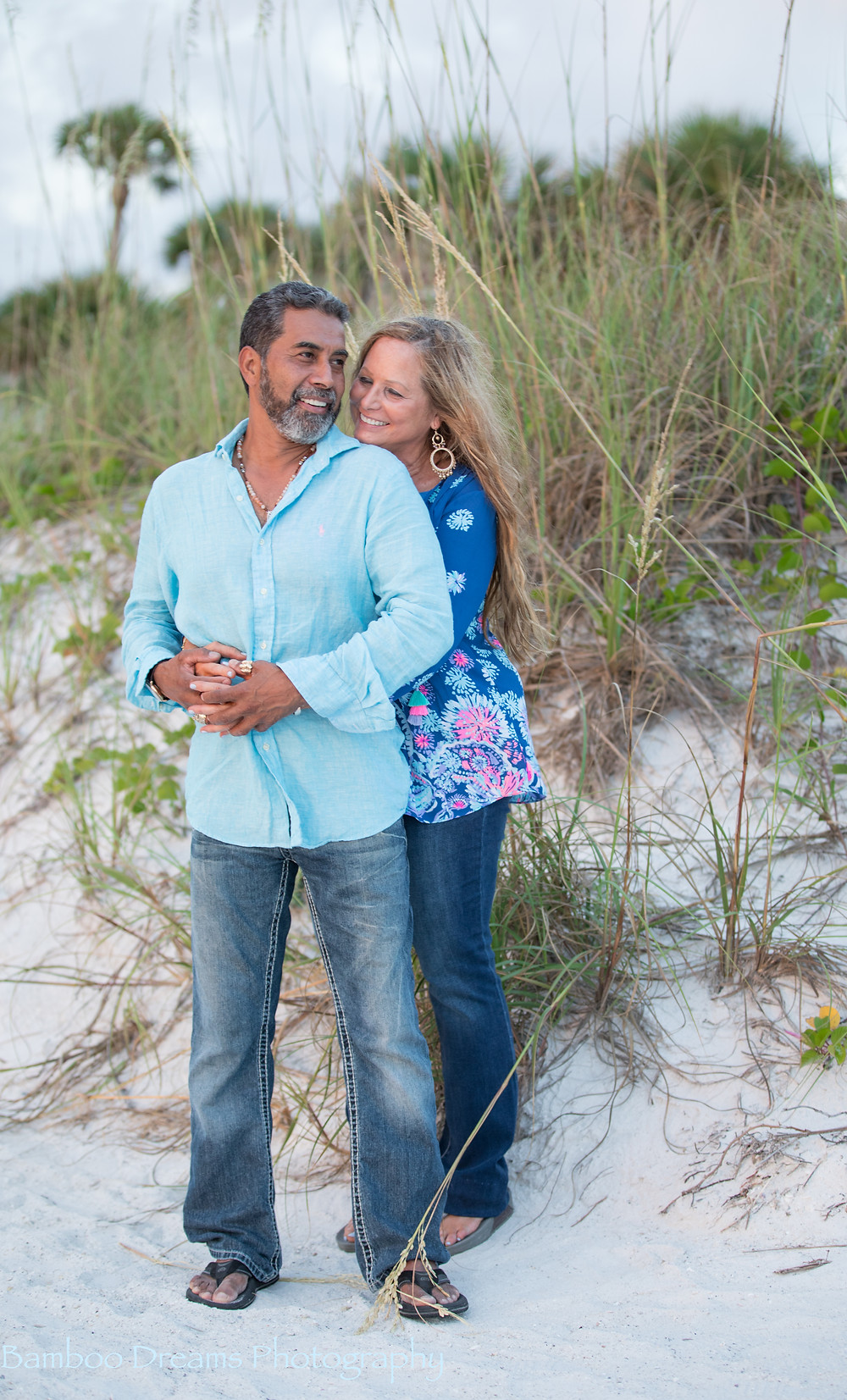 Florida Romantic Sunset Beach Session