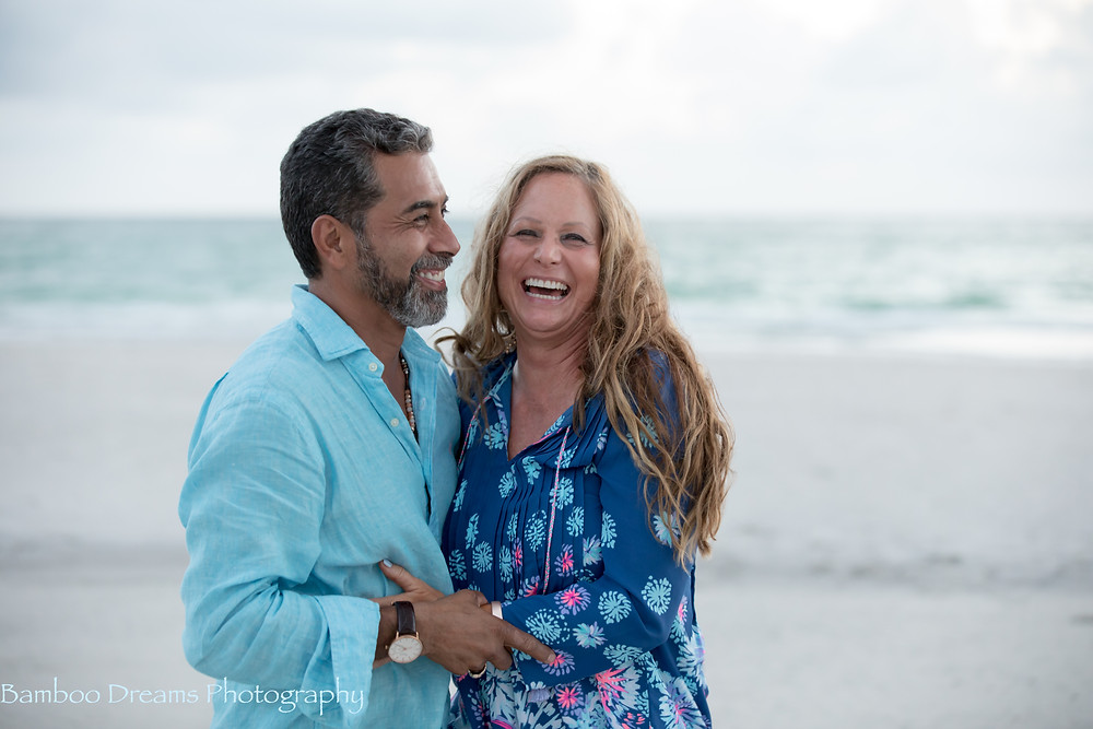 Florida Romantic Beach Sunset Photography Session