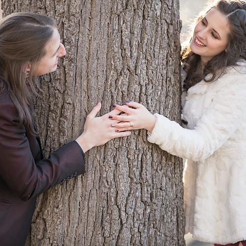 Jessica & Aaron's Winter Engagement