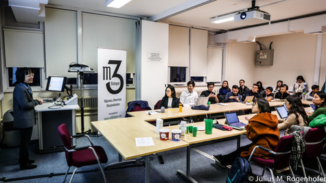 Professor Pun speaks on working-class youth solidarityin China