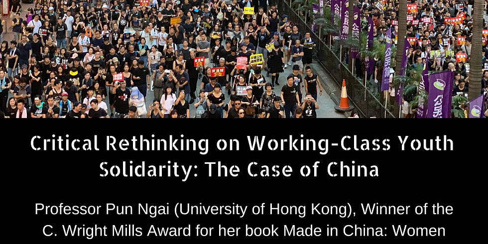 Critical Rethinking on Working-Class Youth Solidarity: The Case of China