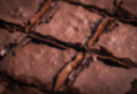 Close na casquinha desse brownie só pra