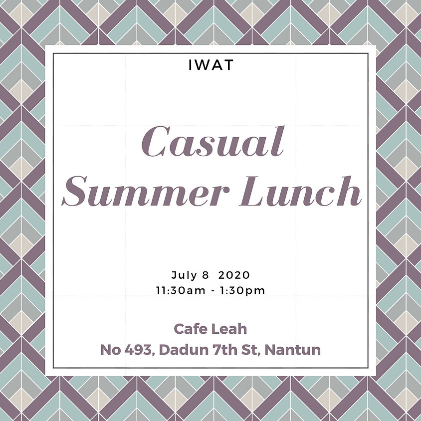 Summer Casual Lunch